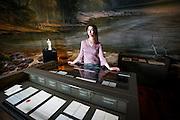 BRUXELLES. 04/06/2013. EXPOSITION DE DU DOCTEUR LIVINGSTONE ET STANLEY AU MUSEE BELEVEU PORTRAIT DE MATHILDE LEDUC PHOTO:PABLO GARRIGOS (ST).