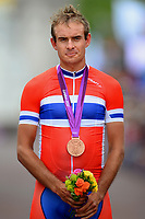 LONDON 2012 - CYCLING MEN'S ROAD RACE - London - London ( The Mall ) (249,5Km) - 28/07/2012 - PHOTO TIM DE WAELE / DPPI - Podium / Alexander KRISTOFF (Nor) Bronze Medal