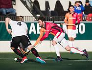 AMSTELVEEN - Robert van de Horst (Oranje-Rood)   tijdens   de hoofdklasse hockeywedstrijd AMSTERDAM-ORANJE ROOD (4-5). COPYRIGHT KOEN SUYK