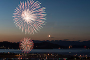 Fourth of July Celebration at Flathead Lake, Western Montana