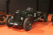 """RIAC Classic Car Show 2013, RDS, Bentley 3/4 1/2 Litre, first registered 1922. Syd Lawrence, a well-known and knowledgeable Bentley mechanic, built up this """"Special"""" between 1948 and 1959 at his Southgate Motors workshops. Irish, Photo, Archive."""