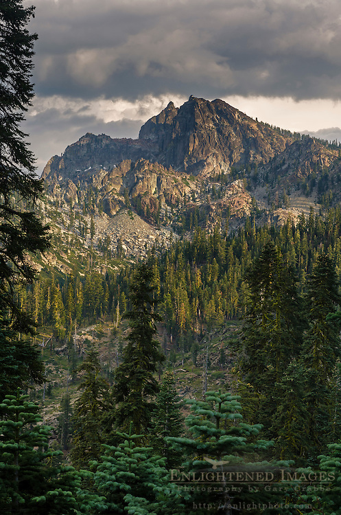 The Sierra Buttes, Tahoe National Forest, Sierra County, California