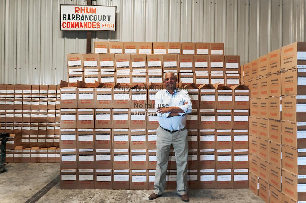 Haïti, Plaine Cul-de-Sac, distillerie de rhum Barbancourt, Thierry Gardère héritier et gérant // Haiti, Plaine Cul de Sac, Barbancourt rum distilery, Thierry Gardère, successor and manager