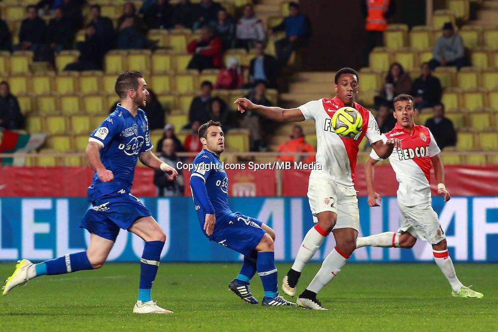 Anthony MARTIAL  - 13.03.2015 -   Monaco / Bastia -  29eme journee de Ligue 1 <br />Photo : Serge Haouzi / Icon Sport