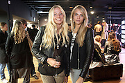 CLARA PAGET; CARA DELEVIGNE, United Nude launched their London shop.  in association with TANK Magazine. Floral st. Covent Garden. London. 7 September 2011. <br /> <br />  , -DO NOT ARCHIVE-© Copyright Photograph by Dafydd Jones. 248 Clapham Rd. London SW9 0PZ. Tel 0207 820 0771. www.dafjones.com.