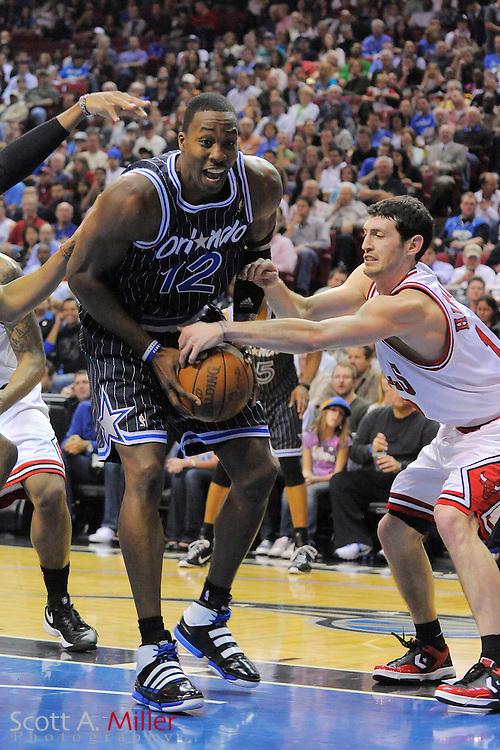 March 11, 2010; Orlando, FL, USA; Chicago Bulls vs. Orlando Magic at Amway Arena. ©2010 Scott A. Miller