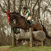 Megan Montague and It's Otto at the Morven Park Spring Horse Trials held in Leesburg, Virginia