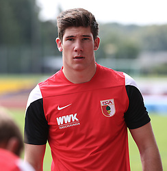 29.06.2015, Ernst-Lehner-Stadion, Augsburg, GER, 1. FBL, FC Augsburg, Trainigsauftakt, Laktat-Test, im Bild Yannik Oettl (Torwart FC Augsburg), // during a traning session of German 1st Bundeliga Club FC Augsburg at the Ernst-Lehner-Stadion in Augsburg, Germany on 2015/06/29. EXPA Pictures © 2015, PhotoCredit: EXPA/ Eibner-Pressefoto/ Krieger<br /> <br /> *****ATTENTION - OUT of GER*****