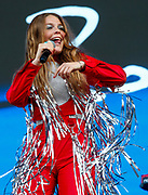 CHICAGO, IL - AUGUST 06: Maggie Rogers performs at Grant Park on August 6, 2017 in Chicago, Illinois. (Photo by Michael Hickey/Getty Images) *** Local Caption *** Maggie Rogers