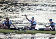 Mortlake/Chiswick, GREATER LONDON. United Kingdom. University Men's Boat Race<br /> Championship Course,  Putney to Mortlake on the River Thames. <br /> <br /> Sunday  02/04/2017<br /> <br /> [Mandatory Credit; Peter SPURRIER/Intersport Images]