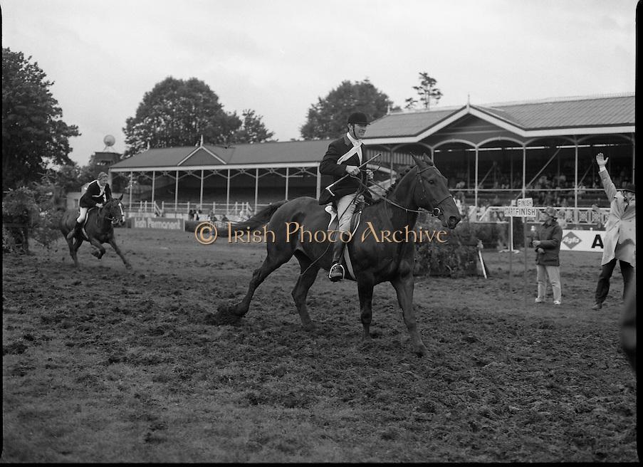 Three Day Equestrian Event.06-09/08/1986