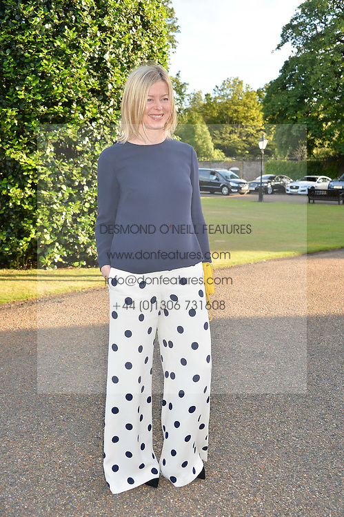 LADY HELEN TAYLOR at The Ralph Lauren & Vogue Wimbledon Summer Cocktail Party at The Orangery, Kensington Palace, London on 22nd June 2015.  The event is to celebrate ten years of Ralph Lauren as official outfitter to the Championships, Wimbledon.