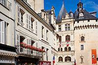 France, Indre-et-Loire (37), Loches, la cité médiévale, vieille ville // France, Indre-et-Loire (37), Loches, medieval city, old town