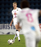 Fotball<br /> Tippeligaen Eliteserien<br /> 05.10.08<br /> Ullevaal Stadion<br /> FC Lyn Oslo - Rosenborg RBK<br /> Mads Dahm<br /> Foto - Kasper Wikestad