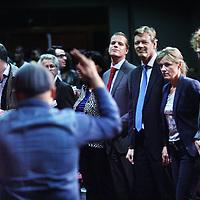 Nederland, Amsterdam , 16 maart 2014.<br /> Joel Voordewind bezoekt een gospeljam van victory Outreach Amsterdam met de ChristenUnie Amsterdam aan de Wenckebachweg 117<br /> Foto:Jean-Pierre Jans