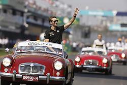 March 17, 2019 - Melbourne, Australia - Motorsports: FIA Formula One World Championship 2019, Grand Prix of Australia, ..#8 Romain Grosjean (FRA, Rich Energy Haas F1 Team) (Credit Image: © Hoch Zwei via ZUMA Wire)