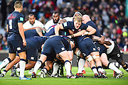 England gets a rolling maul going in the second half that results in a try during the Autumn International Series match between England and Fiji at Twickenham, Richmond, United Kingdom on 19 November 2016. Photo by Ian  Muir.