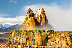 """Fly Geyser 8"" - Photograph of the famous man made Fly Geyser in Nevada."