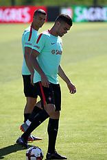 Portugal Football Team training session - 7 June 2017