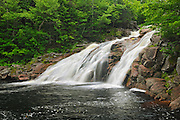 Mary Ann Falls<br /> Cape Breton Highlands National Park<br /> Nova Scotia<br /> Canada