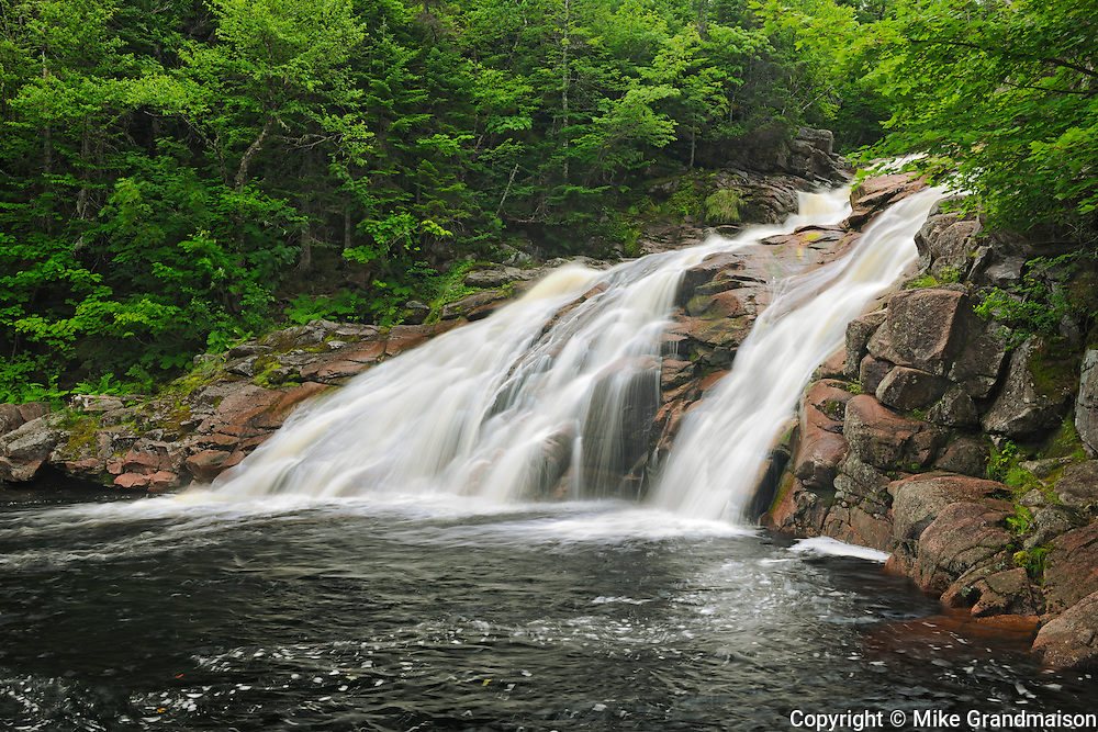 Mary Ann Falls<br /> Cape Breton Highlands National Park<br /> Nova Scotia<br /> Canada