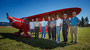 Restoration team of 1938 Rearwin Speedster.