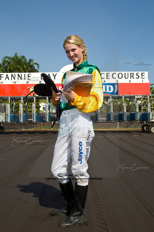 Alana Brown School Girl Jockey. Editiorial.Photo Shane Eecen