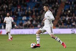 January 24, 2019 - Madrid, Spain - Real Madrid's Dani Ceballos during Copa del Rey match between Real Madrid and Girona FC at Santiago Bernabeu Stadium. (Credit Image: © Legan P. Mace/SOPA Images via ZUMA Wire)