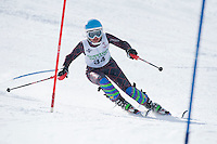 Tecnica Cup finals ladies 2nd run at Gunstock February 19, 2011.