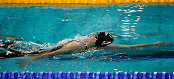 07-12-2008 ZWEMMEN: SWIMCUP: EINDHOVEN<br /> Silke van Hoof op de 100 meter rug<br /> ©2008-WWW.FOTOHOOGENDOORN.NL