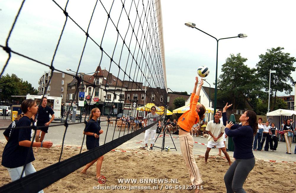 Beachvolleybal toernooi Langgewenst Hilversum cafe Flater & de Doelen
