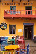 Cafe at Pisac market  Pisac, Peru