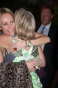 SABINA MCTAGGART; ANN SINGER, The Cartier Chelsea Flower show dinner. Hurlingham club, London. 20 May 2013.