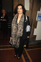 BIANCA JAGGER at the 2nd Fortune Forum Summit and Gala Dinner held at the Royal Courts of Justice, The Strand, London on 30th November 2007.<br />