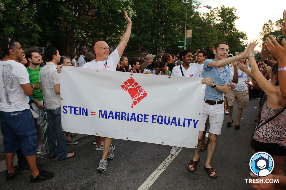 Images from the DC Capital Pride Parade held Saturday, June 12, 2010.