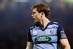 Cardiff Blues' Blaine Scully<br /> <br /> Photographer Simon King/Replay Images<br /> <br /> Guinness PRO14 Round 21 - Cardiff Blues v Ospreys - Saturday 28th April 2018 - Principality Stadium - Cardiff<br /> <br /> World Copyright © Replay Images . All rights reserved. info@replayimages.co.uk - http://replayimages.co.uk