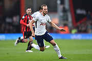 Harry Kane (10) of Tottenham Hotspur during the Premier League match between Bournemouth and Tottenham Hotspur at the Vitality Stadium, Bournemouth, England on 11 March 2018. Picture by Graham Hunt.