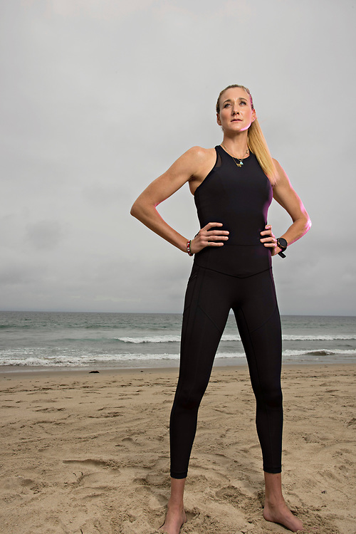 MANHATTAN BEACH, CA - June 6, 2017:  <br /> <br /> Kerri Walsh Jennings is one of the power brokers in beach volleyball, standing up for player's rights with a recent break from the AVP and the formation of a new league.<br /> <br /> (photo by Melissa Lyttle for ESPN)