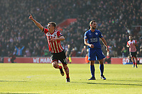 Football - 2016 / 2017 Premier League - Southampton vs. Leicester City<br /> <br /> Southampton's James Ward-Prowse celebrates open the scoing at St Mary's Stadium Southampton England<br /> <br /> COLORSPORT/SHAUN BOGGUST