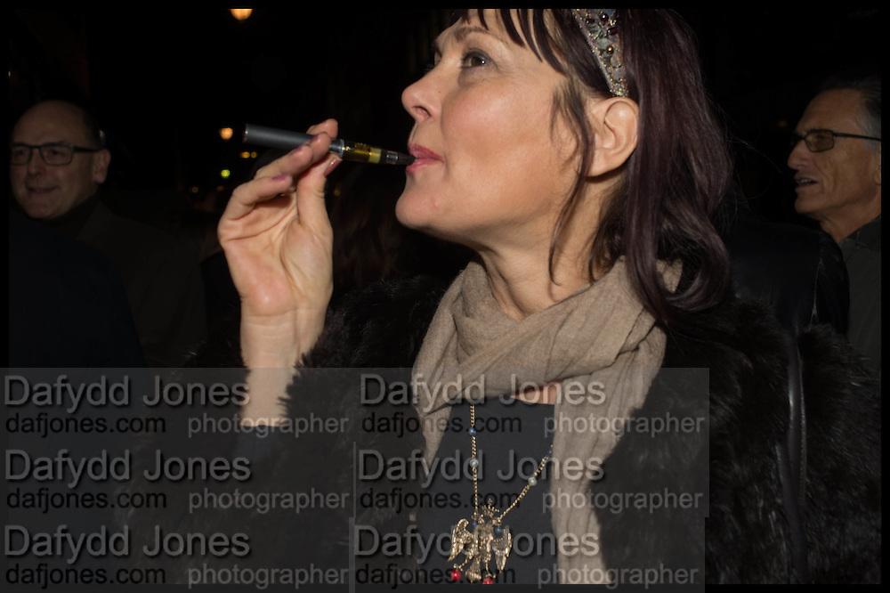 ELENA KHUDIAKOVA, Nina Fowler works curated by James Birch, The launch of Dadiani Fine Art, 30 Cork St. London.  24 November 2014