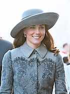 Kate & Royals Attend Commonwealth Service