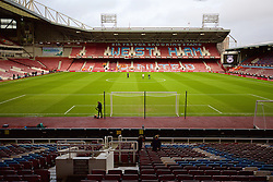 LONDON, ENGLAND - Saturday, January 2, 2016: A general view of West Ham United's Upton Park before the Premier League match against Liverpool. (Pic by David Rawcliffe/Propaganda)