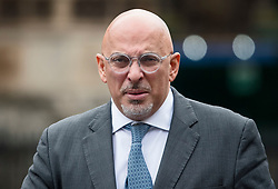 © Licensed to London News Pictures. 31/01/2018. London, UK. Conservative MP Nadhim Zahawi seen arriving at the House of Commons in Westminster. .Photo credit: Ben Cawthra/LNP
