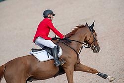 Ehning Marcus, GER, Pret A Tout<br /> Tryon - FEI World Equestrian Games™ 2018<br /> Springen Zeitspringprüfung Teamwertung Einzelwertung 1 Runde<br /> 19. September 2018<br /> © www.sportfotos-lafrentz.de/Dirk Caremans