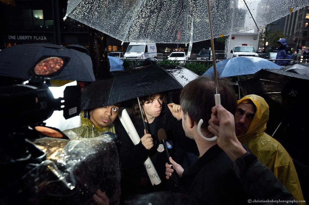 November 16, 2011, Zuccotti Park, NY