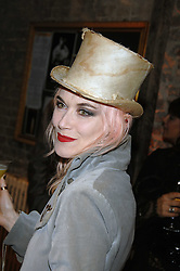 PAM HOGG at the Stephen Webster launch party of his latest jewellery collection during the London Jewellery Week, at Wilton's Music Hall, Graces Alley, Off Ensign Street, London E1 on 12th June 2008.<br /><br />NON EXCLUSIVE - WORLD RIGHTS