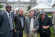 EDWIN MOSES; RON DENNIS; VISCOUNT LINLEY; BRIAN JOHNSON AC DC, The Cartier Style et Luxe during the Goodwood Festivlal of Speed. Goodwood House. 1 July 2012.