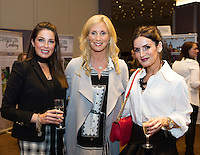 16/10/2016 Lorraine Keane kicks off the first of seven Keane on Style beauty, fashion and wellbeing tour in the Radisson Blu Galway with an audience of  glamorous women of all ages. At the Radisson Blu for the event was Sophie Small, Michelle Murphy and Denise McNamara . Photo :Andrew Downes, XPOSURE