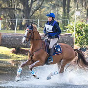 Katherine Coleman (USA) and Billy Bandit at the Red Hills International Horse Trials in Tallahassee, Florida.