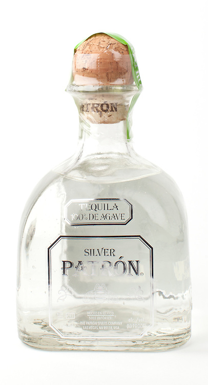 Patron silver -- Image originally appeared in the Tequila Matchmaker: http://tequilamatchmaker.com
